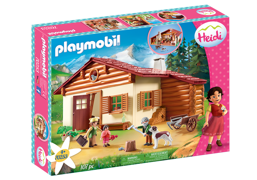 Playmobil Heidi at the Alpine Hut (Product No 70253)