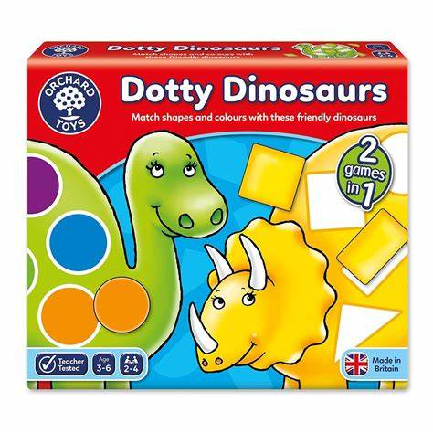 Load image into Gallery viewer, Orchard Dotty Dinosaurs Games