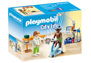 Playmobil City Life Physical Therapist Product No: 70195