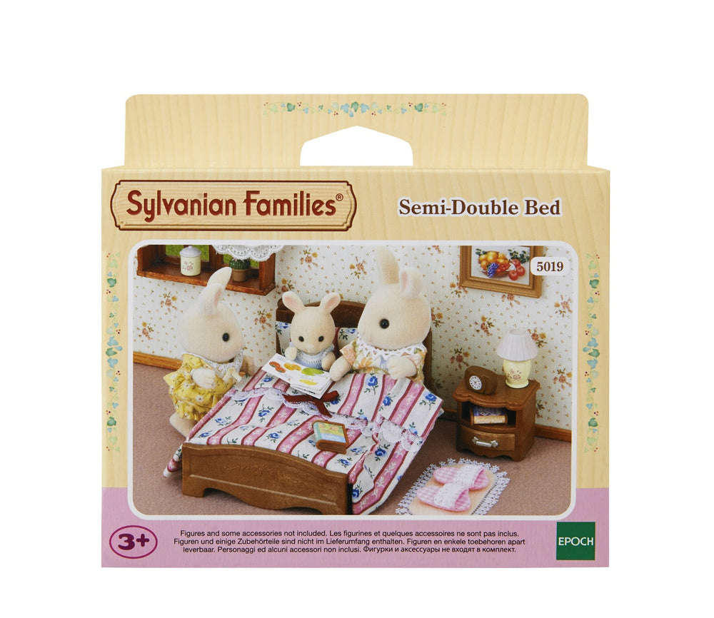 Slyvanian Families - Semi-Double Bed