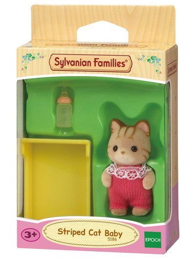 Slyvanian Families - Striped Cat Baby