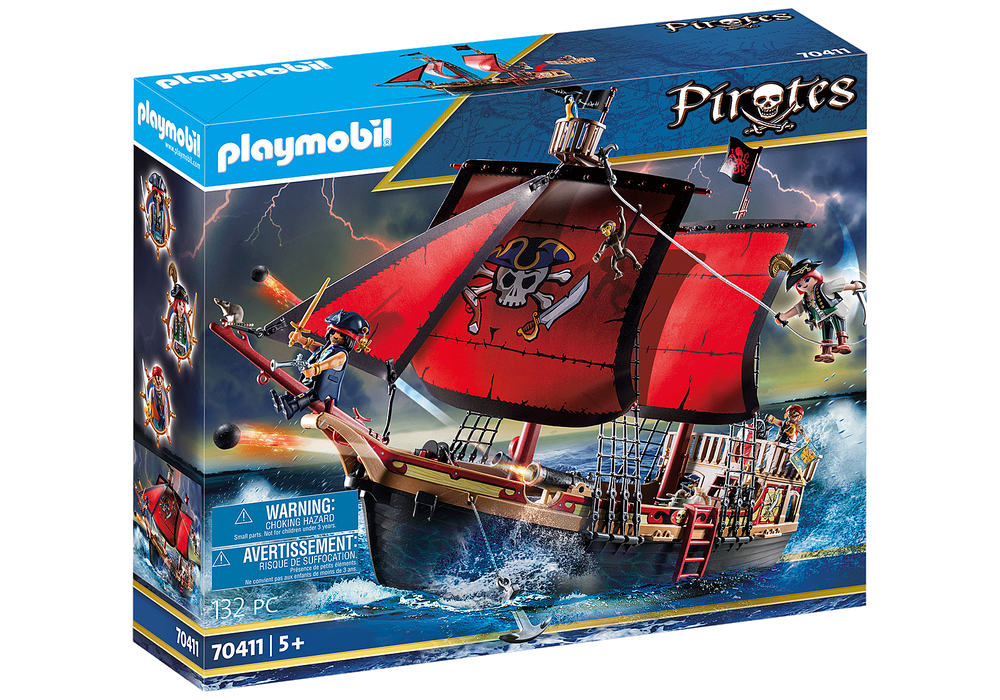 Playmobil Skull Pirate Ship Product No: 70411
