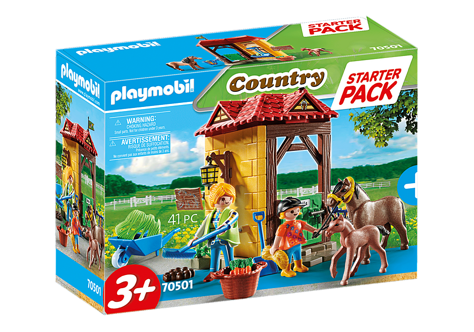 Load image into Gallery viewer, Playmobil 70501 Country Large Starter Set