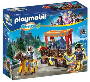 Playmobil Super 4 Royal Tribune with Alex Product Number 6695
