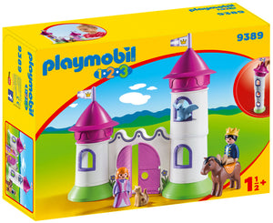 Playmobil 1.2.3. Castle with Stackable Towers (Product No 9389)