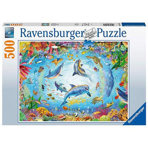 Load image into Gallery viewer, Ravensburger Puzzle Cave Dive 500 Piece