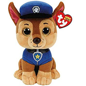 Ty Beanie Boos Chase Paw Patrol