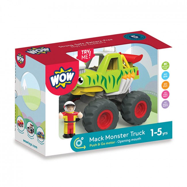 WOW Toys Mack The Monster Truck