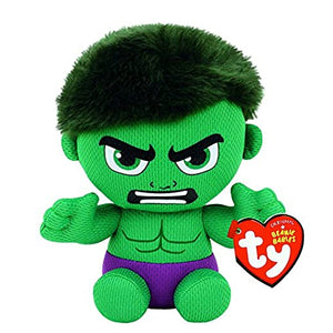 Load image into Gallery viewer, Ty Beanie Babies Hulk the Marvel Superhero