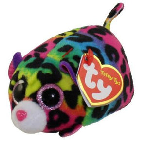 Ty Teeny Jelly Multi colour Leopard