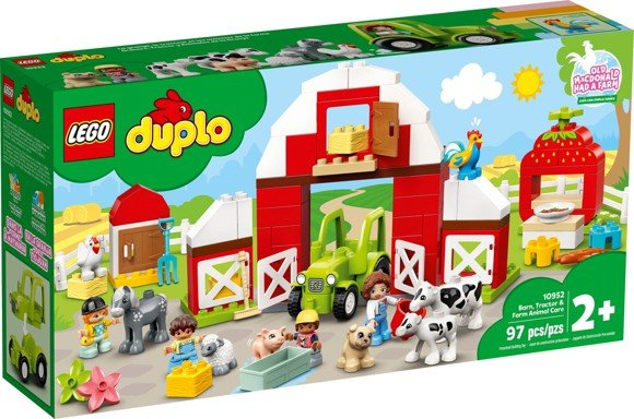 Load image into Gallery viewer, LEGO Duplo 10952 Barn, Tractor & Farm Animal Care