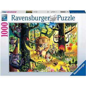 Ravensburger Puzzle Lions, Tigers & Bears, Oh My! 1000 Piece