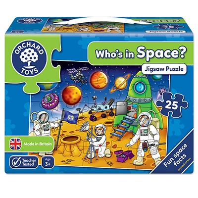 Orchard Who's in Space Jigsaw Puzzle