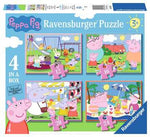 Ravensburger Puzzle Peppa Pig 4 in a Box
