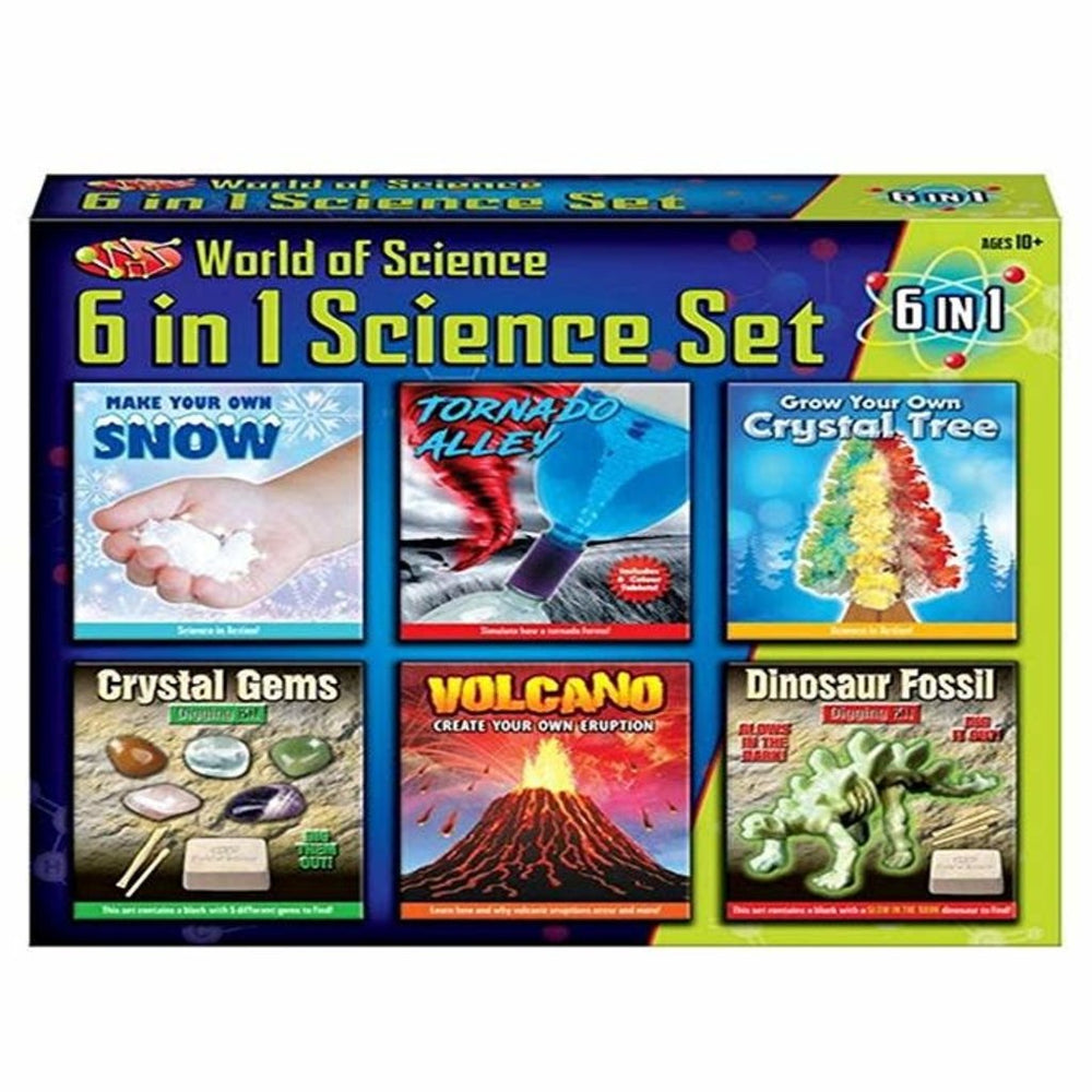World of Science 6 in 1 Science Kit