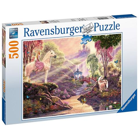 Load image into Gallery viewer, Ravensburger Puzzle The Magic River 500 Piece