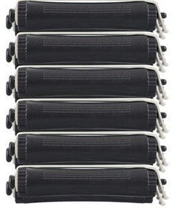 Black Perm Rods 16mm -12 pk