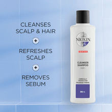 Load image into Gallery viewer, Nioxin System 6 Cleanser 300ml