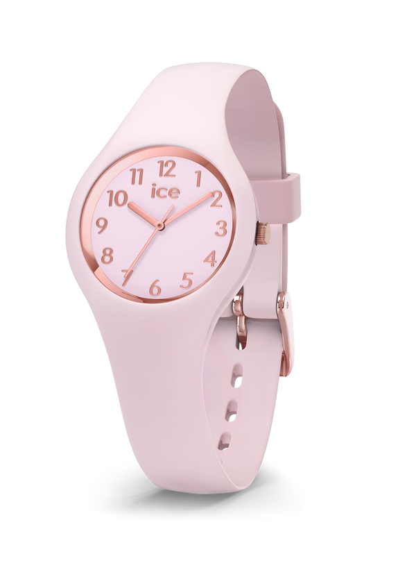 ICE WATCH Glam Pastel Collection Rose Gold Case 28mm (XS) Pink Dial Pink Strap