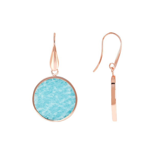 Bronzallure Mini Mahnesite Earrings