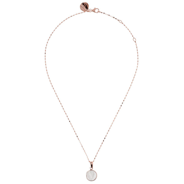 Bronzallure Small Mother Of Pearl Necklet
