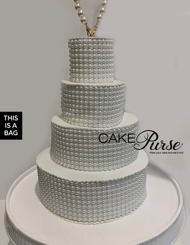 Pearl Tiered Cake Purse