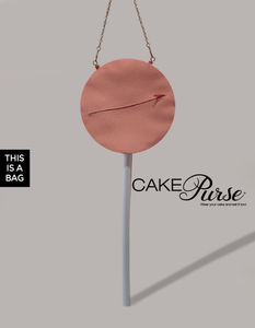 Cake Pop Purse | Cake Pop Handbag | Cake Pop Bag.