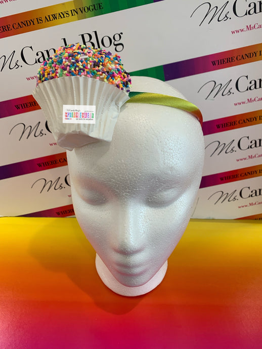 Cupcake Headband | Cupcake Fascinator | Cupcake Crown