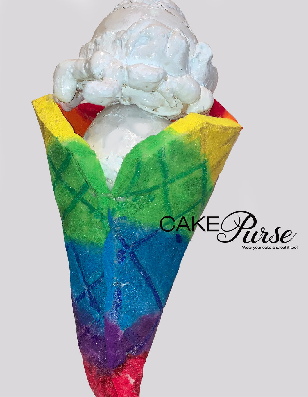 Ice Cream Cone Purse | Ice Cream Cone Handbag | Ice Cream Cone Bag