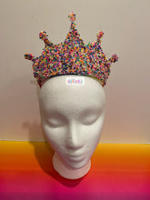 Load image into Gallery viewer, Sprinkled Royal Sprinkles Crown Sprinkle Tiara
