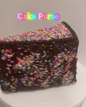 Load and play video in Gallery viewer, Cake Slice Purse | Cake Slice Handbag | Cake Slice Bag