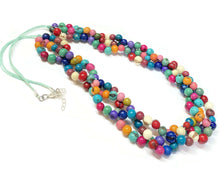Charger l'image dans la galerie, Colorful Multi Strand Necklace Spring