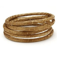 Load image into Gallery viewer, Golden Grass Lightweight Bangles - Bollywood