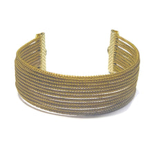 Load image into Gallery viewer, Golden Grass Cuff Bracelet