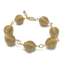 Load image into Gallery viewer, Golden Grass Link Bracelet