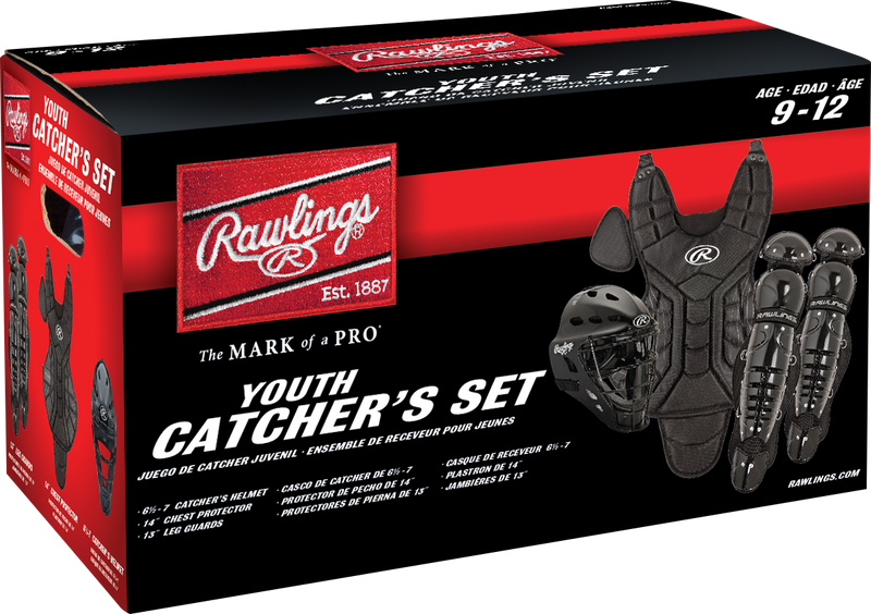 Rawlings Player Series Youth Catcher Set PLCSY