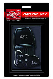 Rawlings Pro Umpire Accessory Set UBBDT