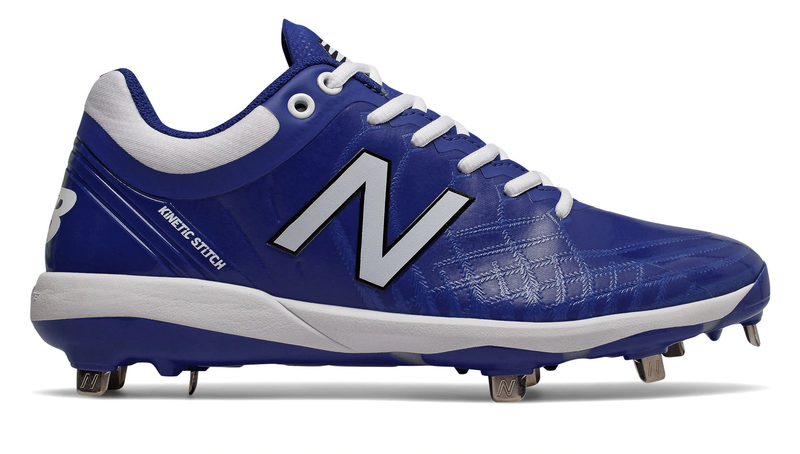 NB Low Baseball Cleats Royal L4040TB5