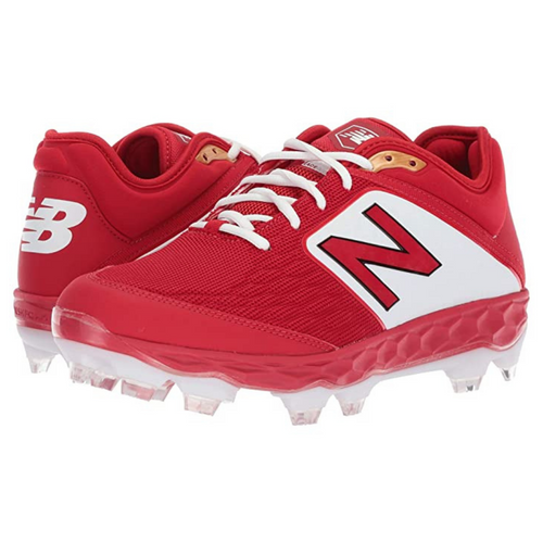 NB Low Molded Cleats Red PL3000TR4