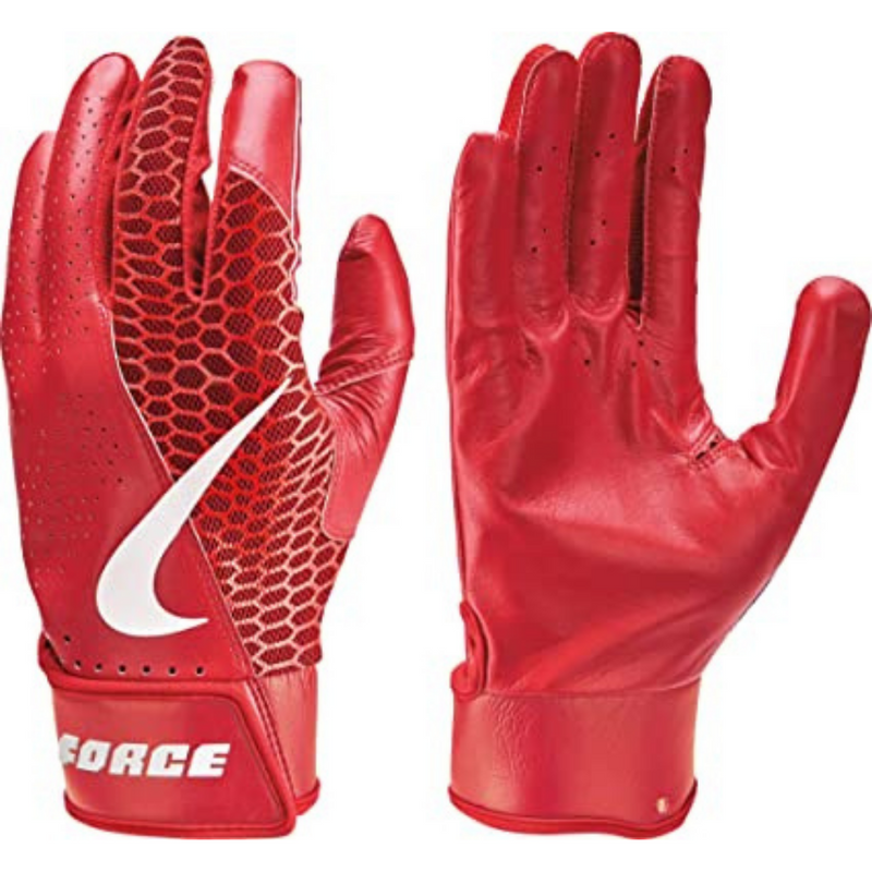 Nike Force Edge Batting Glove Red