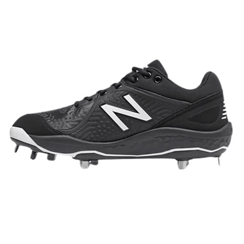 NB Low Baseball Cleats Black L3000SK5