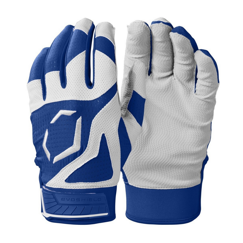 Evoshield SRZ 1 Youth Batting Gloves Royal WB5712107