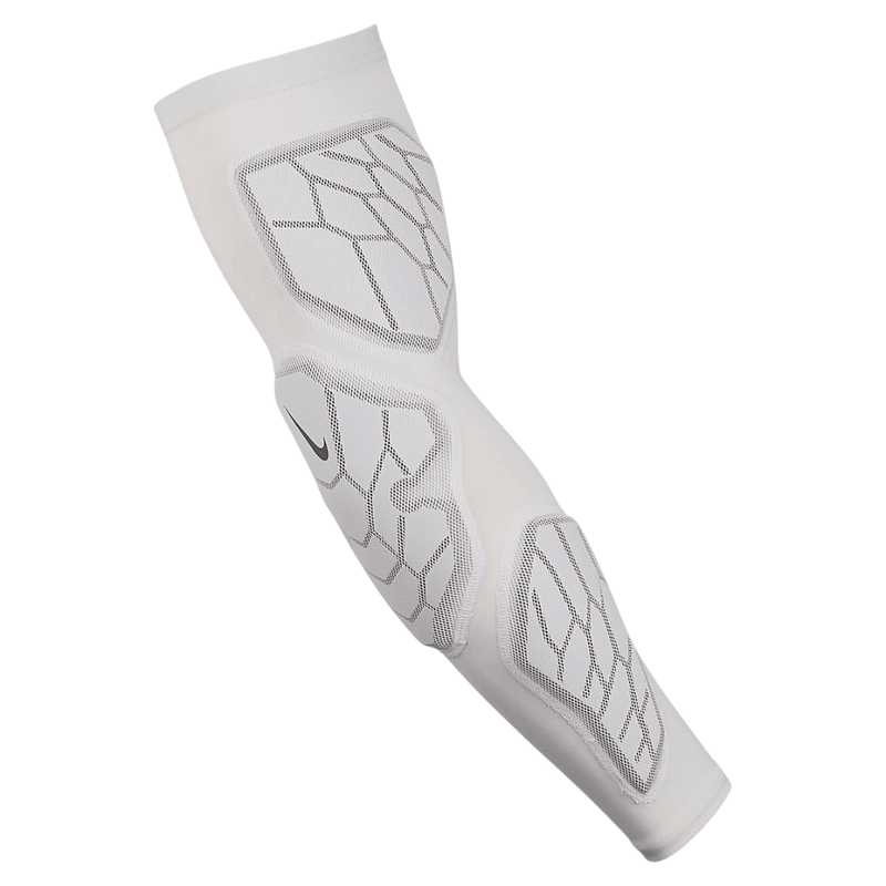 Nike Pro Hyperstrong Padded Arm Sleeve White