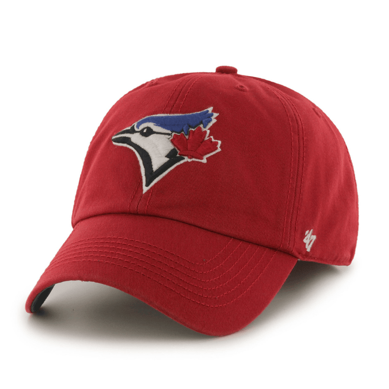 47Brand Red Blue Jays Dad Hat