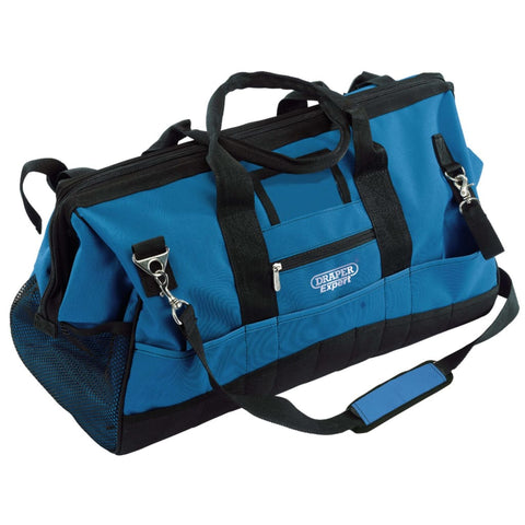 Draper Tools Contractors Tool Bag 63x28x35 cm Blue and Black 60 L