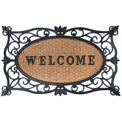 Esschert Design Doormat Welcome 75x45 cm Rubber RB107