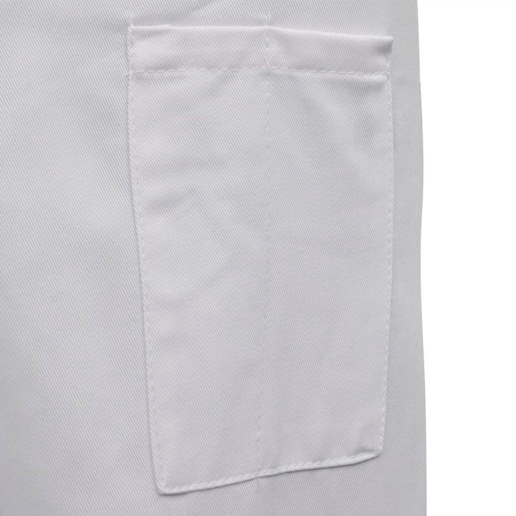 Chef Jackets 2 pcs Long Sleeve Size XXL White