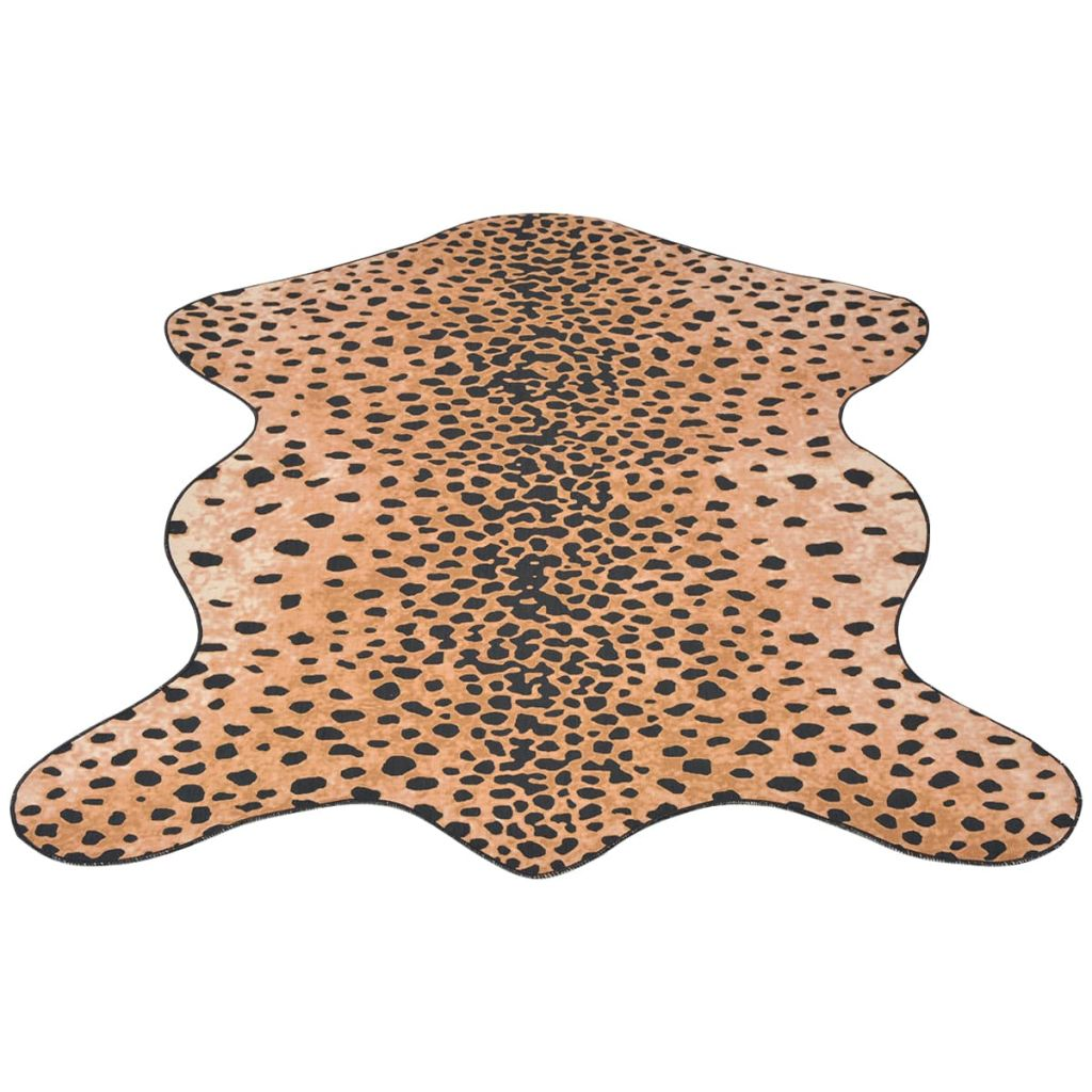 Shaped Rug 110x150 cm Cheetah Print
