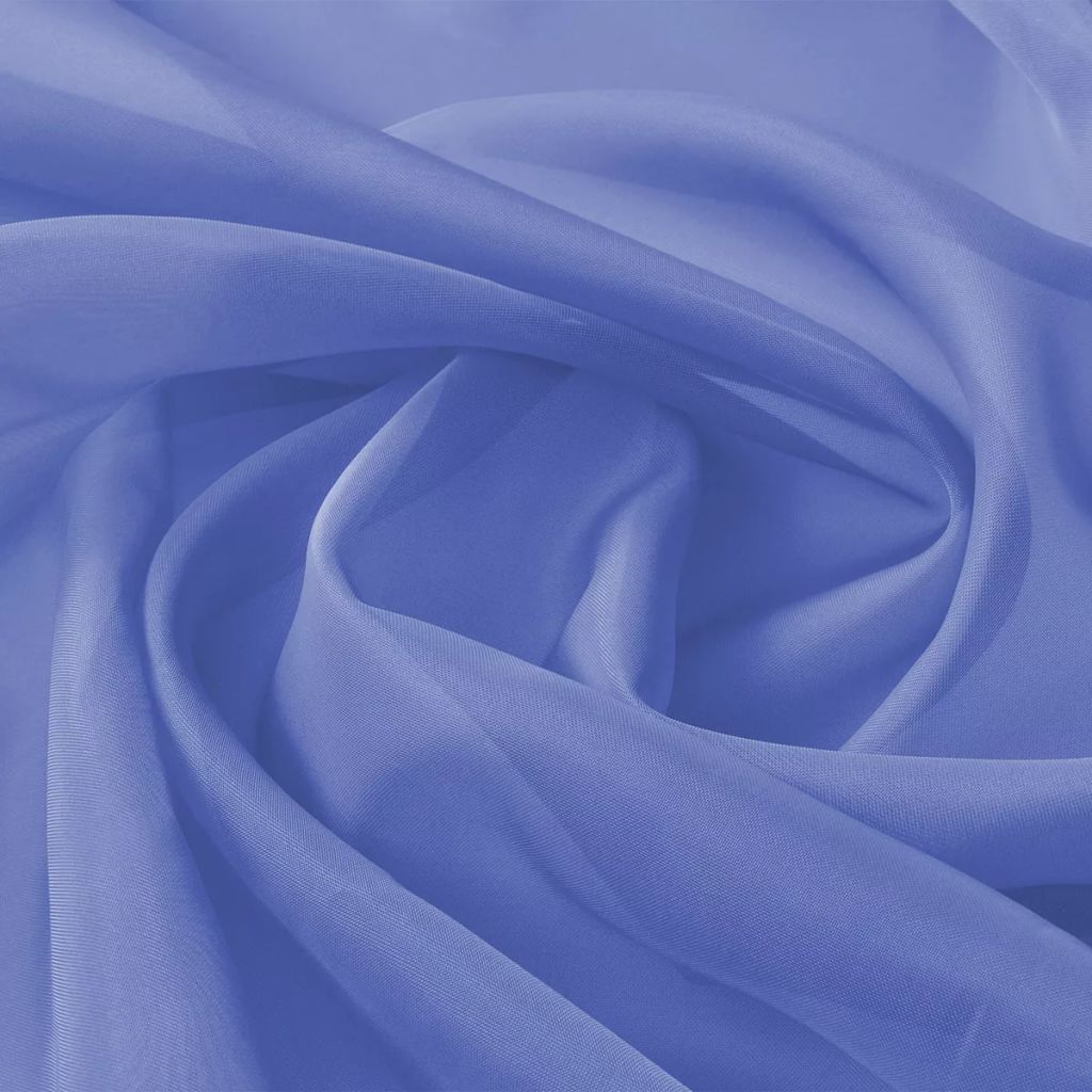Voile Fabric 1.45x20 m Royal Blue