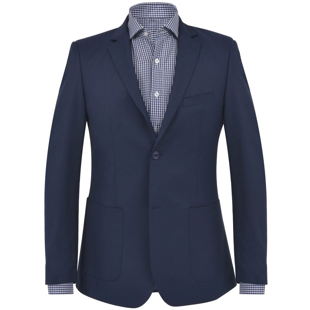Men's Business Blazer Size 50 Navy